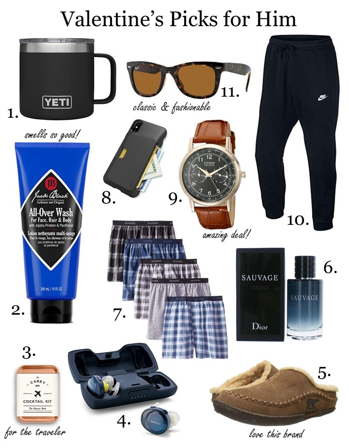GIFT GUIDE: VALENTINE'S DAY 2019 FOR HIM