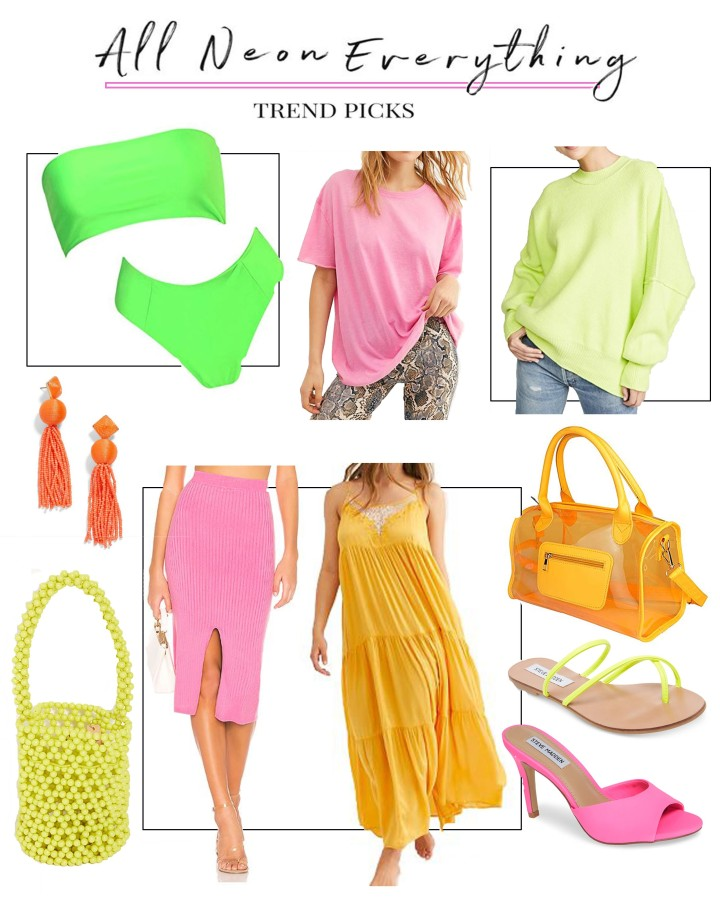 Neon Wish List + How I'm Wearing the Trend